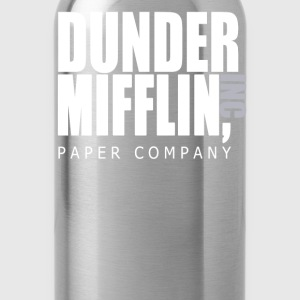 Dunder Mifflin Paper Company - The Office T-Shirts - Water Bottle