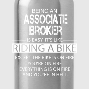 Associate Broker T-Shirts - Water Bottle