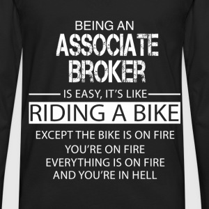 Associate Broker T-Shirts - Men's Premium Long Sleeve T-Shirt
