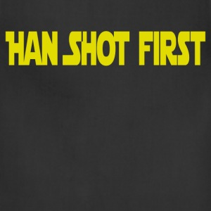 Han Shot First T-Shirts - Adjustable Apron