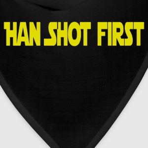 Han Shot First T-Shirts - Bandana