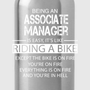 Associate Manager T-Shirts - Water Bottle