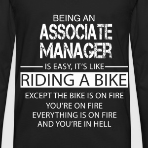 Associate Manager T-Shirts - Men's Premium Long Sleeve T-Shirt