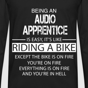 Audio Apprentice T-Shirts - Men's Premium Long Sleeve T-Shirt