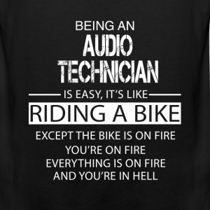Audio Technician T-Shirts - Men's Premium Tank