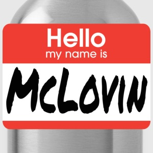 Superbad - Hello My Name Is McLovin T-Shirts - Water Bottle