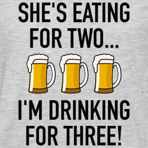 I'm Drinking For Three! - Men's Premium Long Sleeve T-Shirt