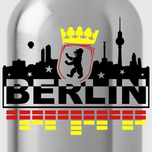 Berlin Bear Skyline T-Shirts - Water Bottle