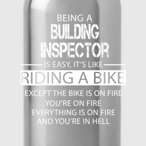 Building Inspector T-Shirts - Water Bottle