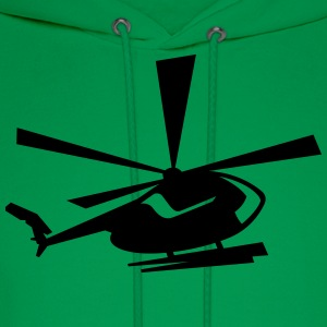 helicopter T-Shirts - Men's Hoodie