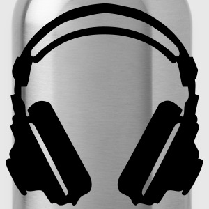 audio equalizer dj headphone music zik19 T-Shirts - Water Bottle