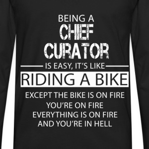 Chief Curator T-Shirts - Men's Premium Long Sleeve T-Shirt