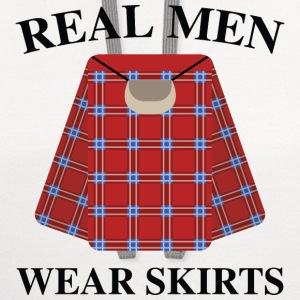 Real Men Wear Skirts - Contrast Hoodie