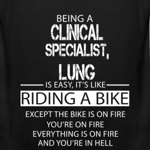 Clinical Specialist, Lung T-Shirts - Men's Premium Tank