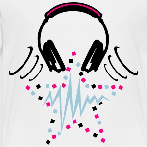 audio equalizer dj headphone music zik1 Kids' Shirts - Toddler Premium T-Shirt