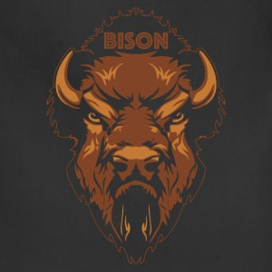 Bison T-shirt - Adjustable Apron