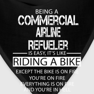 Commercial Airline Refueler T-Shirts - Bandana