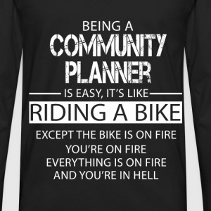 Community Planner T-Shirts - Men's Premium Long Sleeve T-Shirt