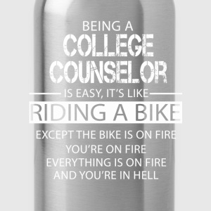 College Counselor T-Shirts - Water Bottle