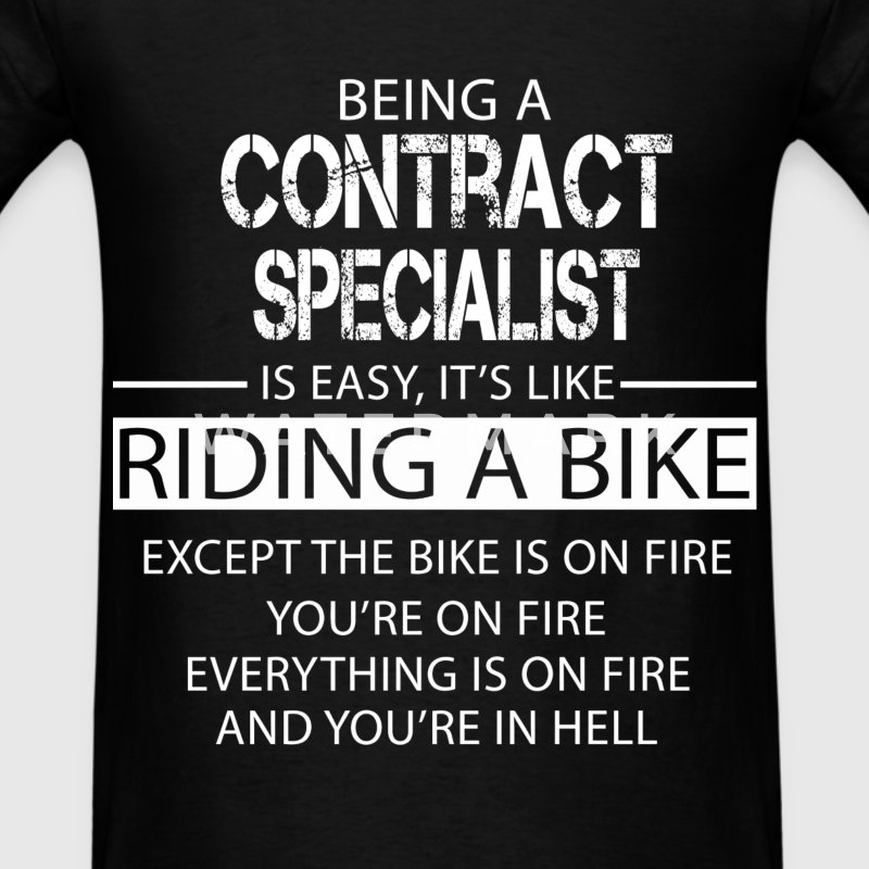 Contract Specialist T-Shirts - Men's T-Shirt
