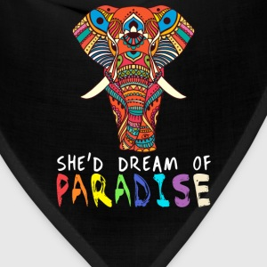She'd dream of Paradise - Bandana
