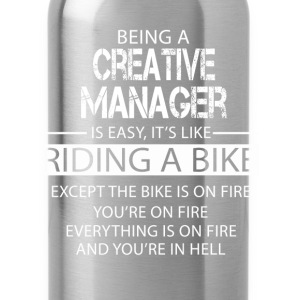 Creative Manager T-Shirts - Water Bottle