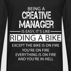 Creative Manager T-Shirts - Men's Premium Long Sleeve T-Shirt