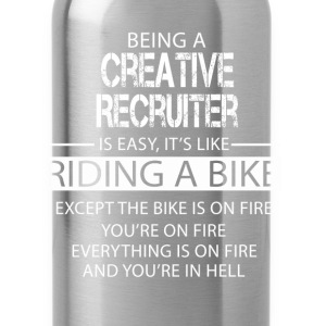 Creative Recruiter T-Shirts - Water Bottle