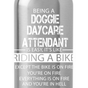 Doggie Daycare Attendant T-Shirts - Water Bottle