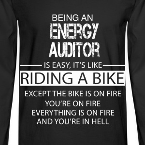 Energy Auditor T-Shirts - Men's Long Sleeve T-Shirt