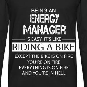 Energy Manager T-Shirts - Men's Premium Long Sleeve T-Shirt