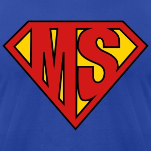 MS Superhero Hoodies - Men's T-Shirt by American Apparel