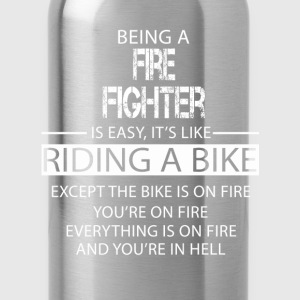 Fire Fighter T-Shirts - Water Bottle