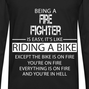 Fire Fighter T-Shirts - Men's Premium Long Sleeve T-Shirt