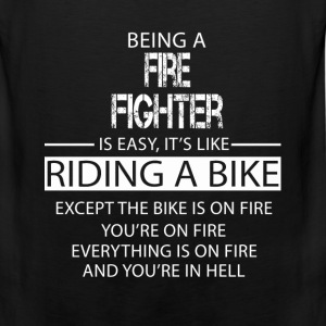 Fire Fighter T-Shirts - Men's Premium Tank