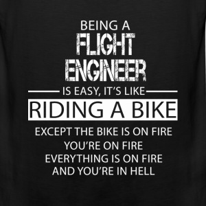 Flight Engineer T-Shirts - Men's Premium Tank