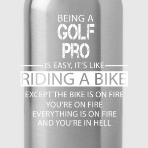 Golf Pro T-Shirts - Water Bottle