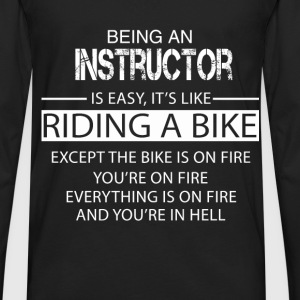 Instructor T-Shirts - Men's Premium Long Sleeve T-Shirt