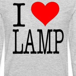 Anchorman Quote - I Love Lamp T-Shirts - Men's Premium Long Sleeve T-Shirt