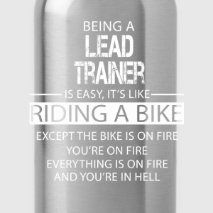 Lead Trainer T-Shirts - Water Bottle