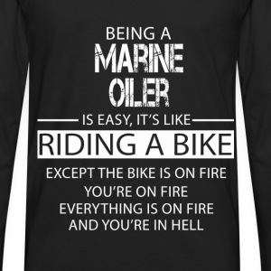 Marine Oiler T-Shirts - Men's Premium Long Sleeve T-Shirt