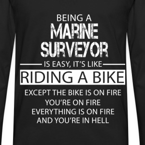 Marine Surveyor T-Shirts - Men's Premium Long Sleeve T-Shirt