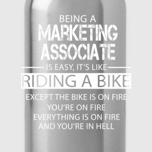 Marketing Associate T-Shirts - Water Bottle