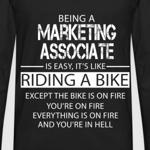 Marketing Associate T-Shirts - Men's Premium Long Sleeve T-Shirt