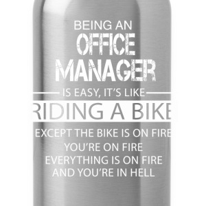Office Manager T-Shirts - Water Bottle