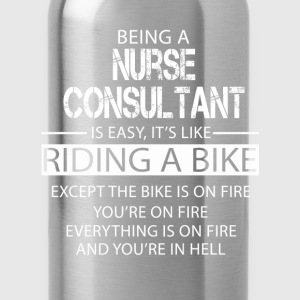 Nurse Consultant T-Shirts - Water Bottle