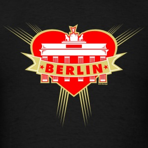 Brandenburg Gate Girl Berlin Tanks - Men's T-Shirt