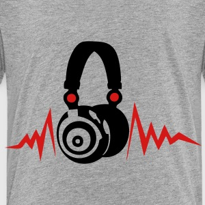 audio equalizer dj headphone music zik14 Kids' Shirts - Toddler Premium T-Shirt