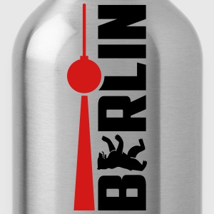 Berlin Bear Tv Tower T-Shirts - Water Bottle