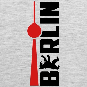 Berlin Bear Tv Tower T-Shirts - Men's Premium Tank